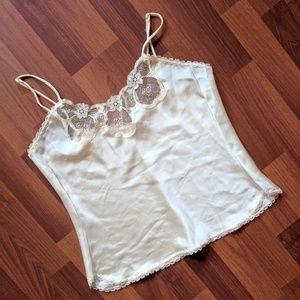Tops - Vintage silk cami